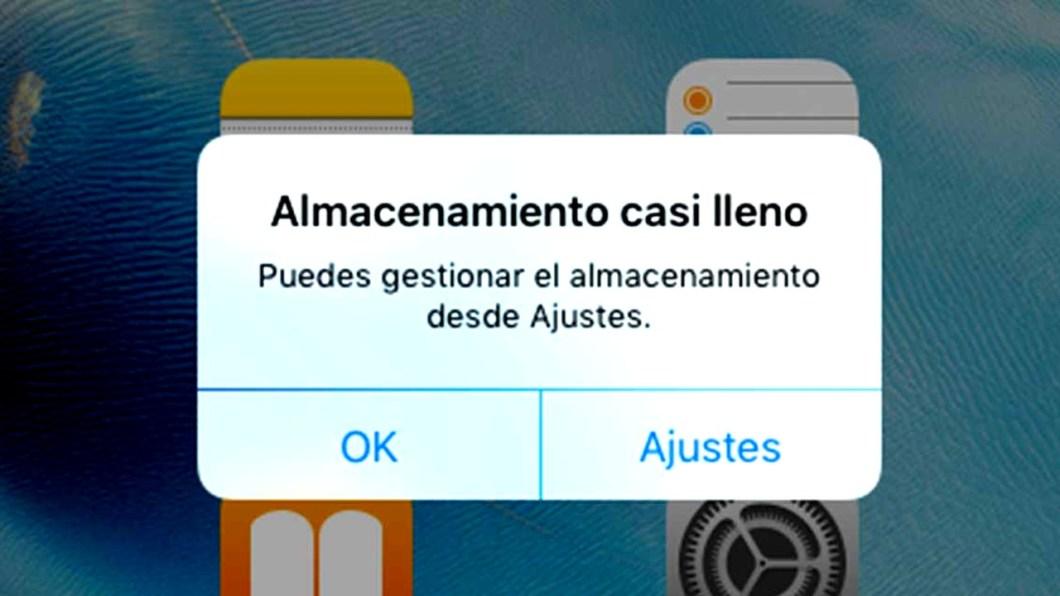 Cómo liberar espacio en iPhone y iPad
