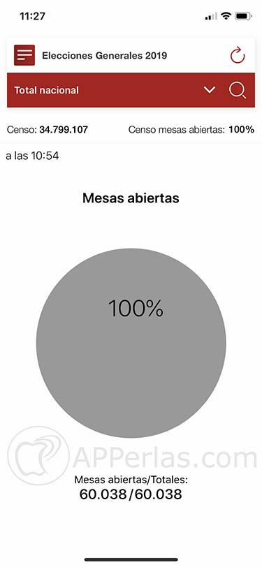 app para seguir las elecciones generales españa 2019 28A 2