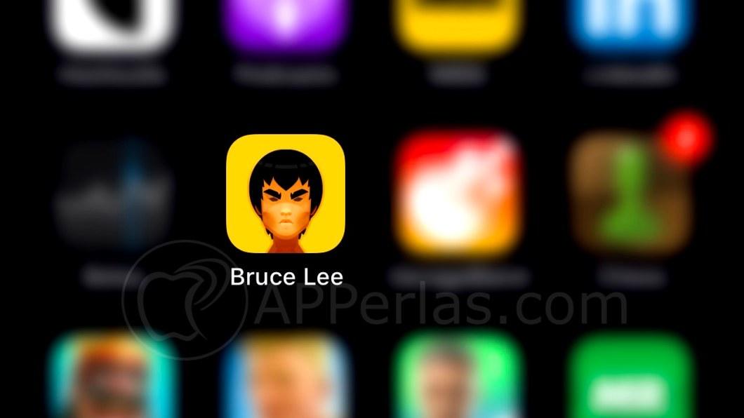 Juego de Bruce Lee para iPhone