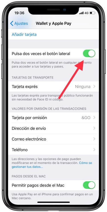 Apple Pay con el iPhone 1