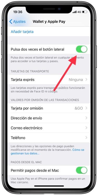 Apple Pay con el iPhone 1