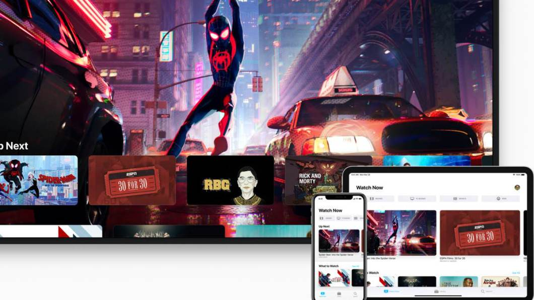 app de TV de Apple