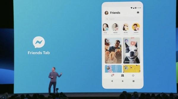 friends tab novedades de facebook instagram whatsapp messenger f8 1