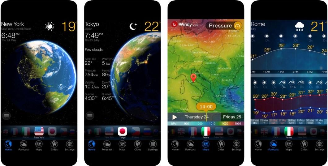 App 3D Tierra Widget