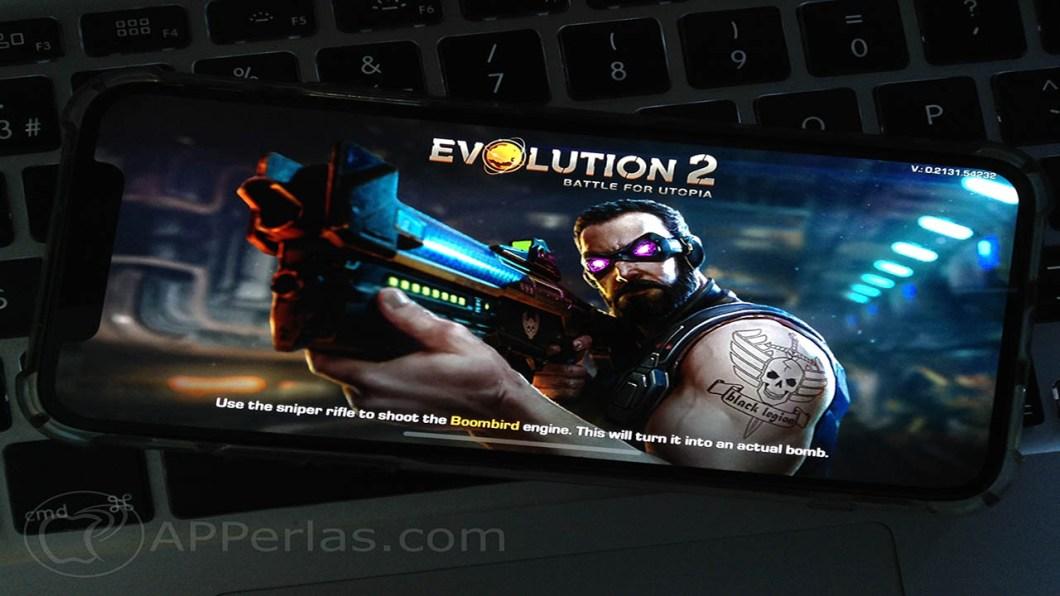 Evolution 2 Battle for utopia juego iphone ios ipad game 1