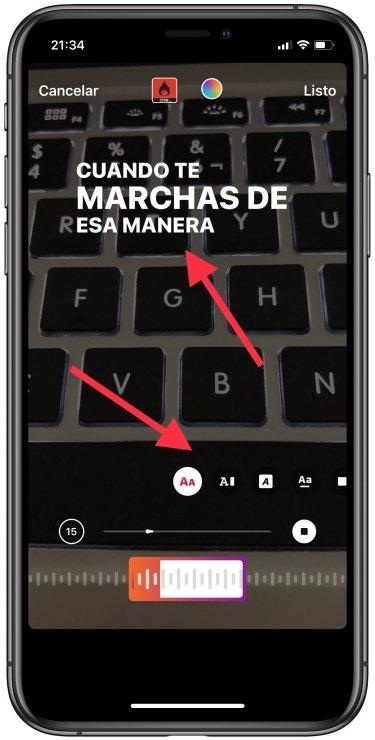 Cómo Poner La Letra De Las Canciones En Instagram Stories Para Iphone