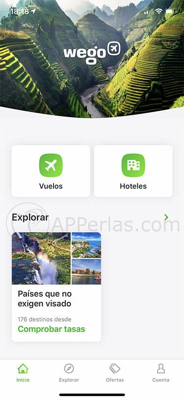 app para buscar viajes wego 2