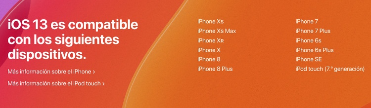 iPhone compatibles