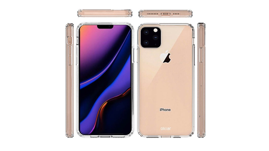próximo iPhone XI o iPhone 11 renders filtraciones rumores 1