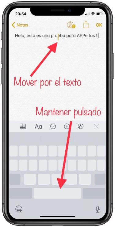 cursor del teclado 1