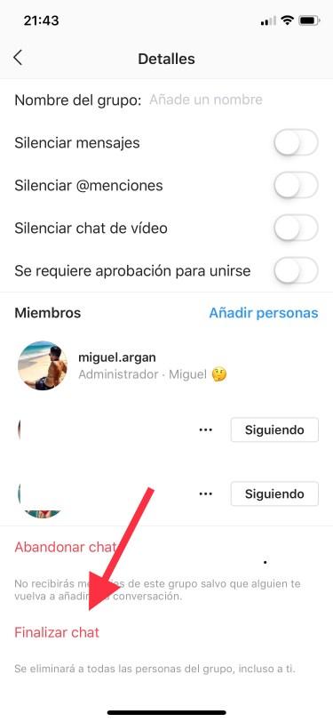 grupo de Instagram 1