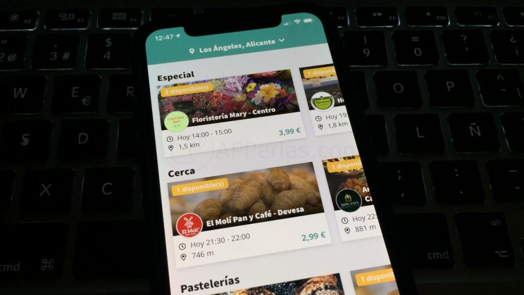 App que evita el desperdicio de alimentos