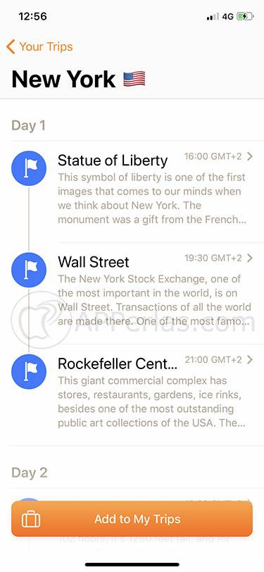 Con esta app no te costará nada organizar tus viajes tripsy 2