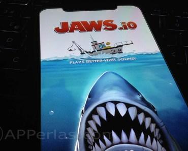 Conviértete en Tiburón y llévate todo por delante en Jaws.io