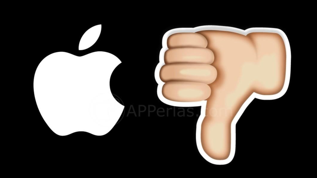 Apple nos defrauda