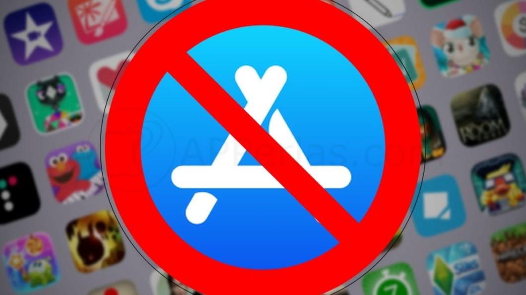 Aplicaciones eliminadas de la App Store