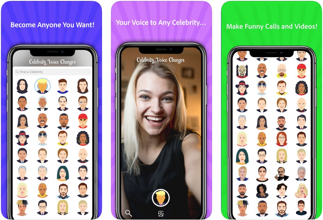 App Celebrity Voice Changer