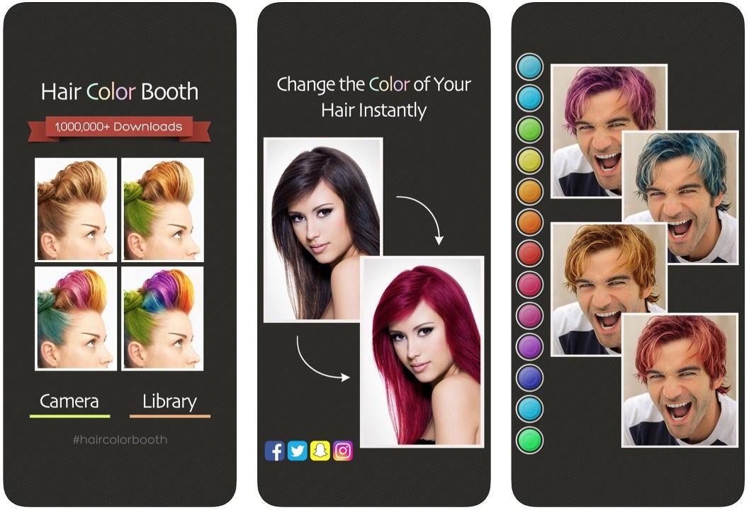 Cambia el color de tu pelo con esta app.