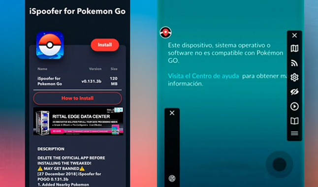 pokemon go banear ban ispoofer trampas