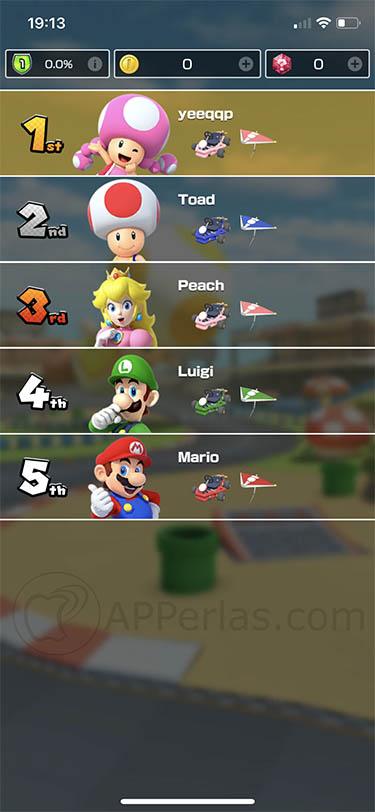 Mario Kart Tour para iOS 3