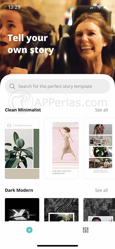 app para crear stories de instagram canva stories studio 2