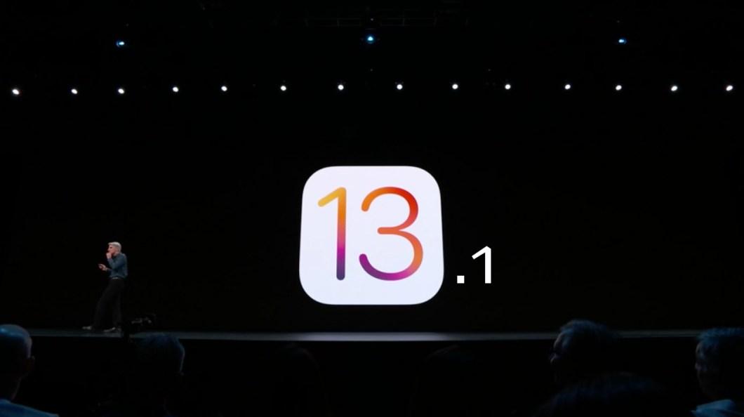 Llega iOS 13.1 a iPhone