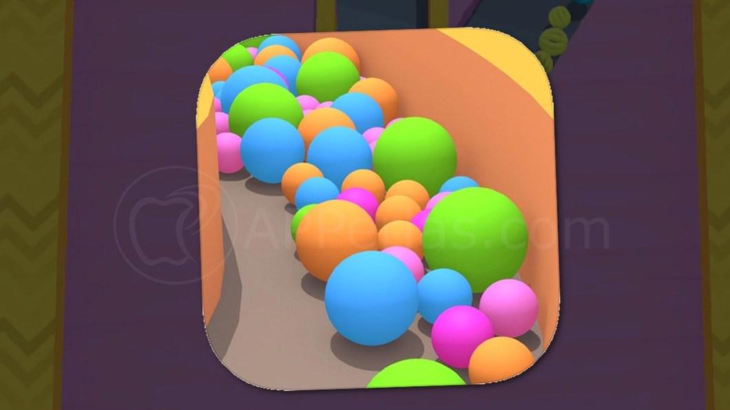 Sand Balls, el juego de las bolas de colores