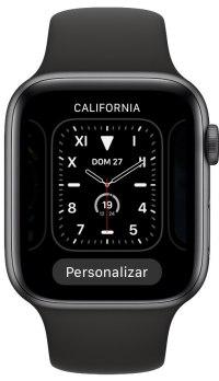 ordenar las esferas del Apple Watch 1