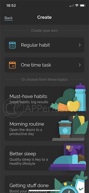 Cumple tus objetivos con este gestor de hábitos y tareas productive 3