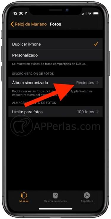 Sincroniza con el Apple Watch el álbum que quieras del iPhone