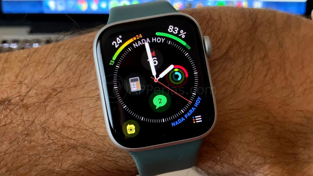 carga optimizada del Apple Watch
