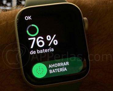 6 trucos para ahorrar batería en el Apple Watch y hacerlo más eficiente
