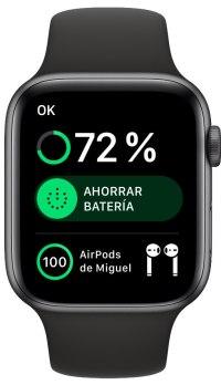 porcentaje de batería de los AirPods 2