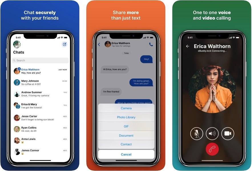 App de mensajería eBuddy