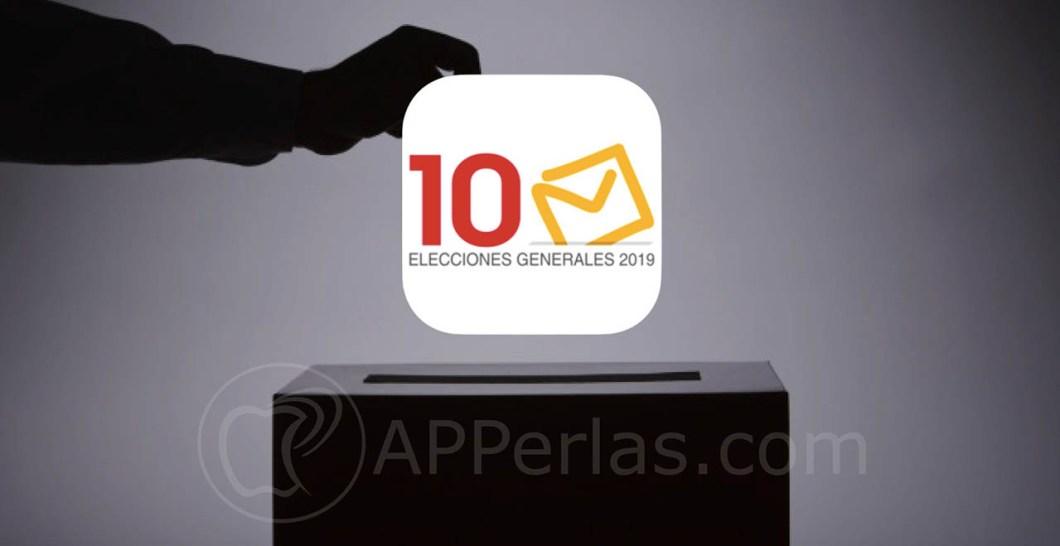 app elecciones generales 10n españa 1
