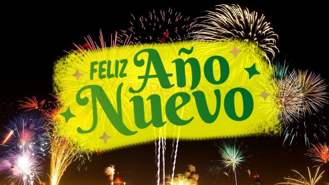 Felicitaciones para año nuevo