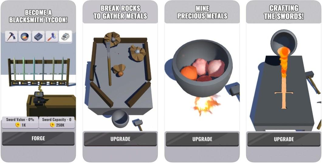Forge Ahead iOS