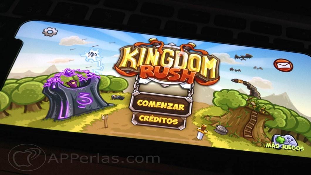 kingdom rush juego estartegia iphone ipad 1