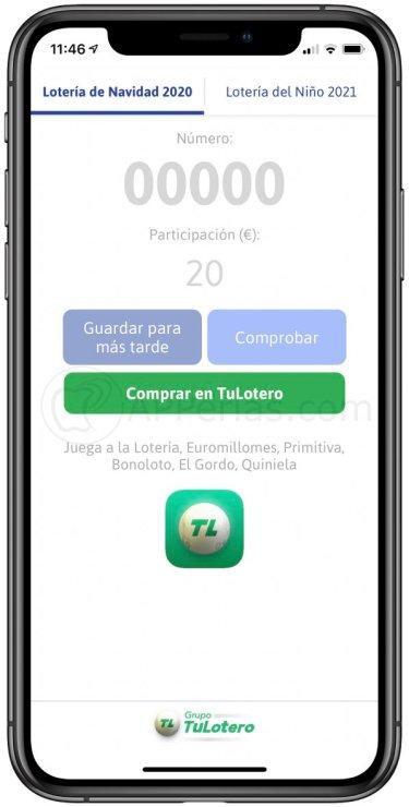 Elige la opción Lotería del Niño 2021