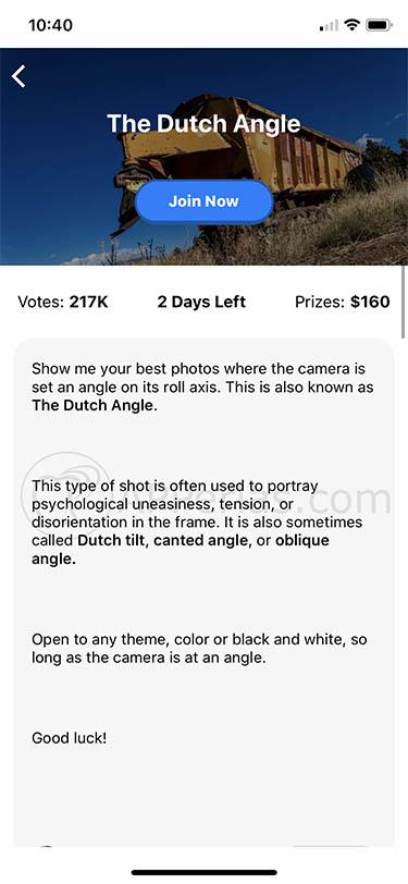 red social fotográfica premios dinero ipad iphone gurushots 3