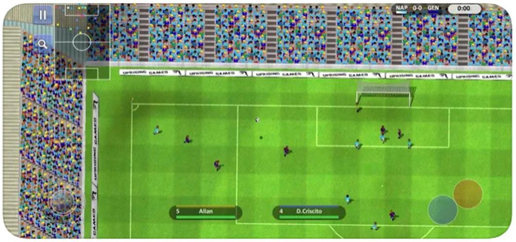Juego para iPhone que recuerda al Sensible Soccer
