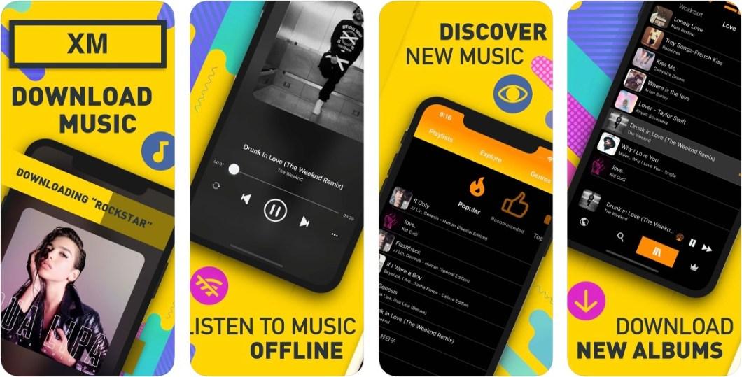 App de descarga de música