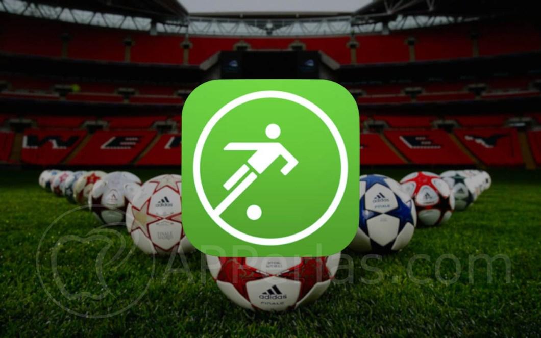 app de fútbol para iOS onefootball 1