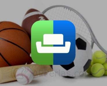App de resultados de deportes con la que estar informado al momento