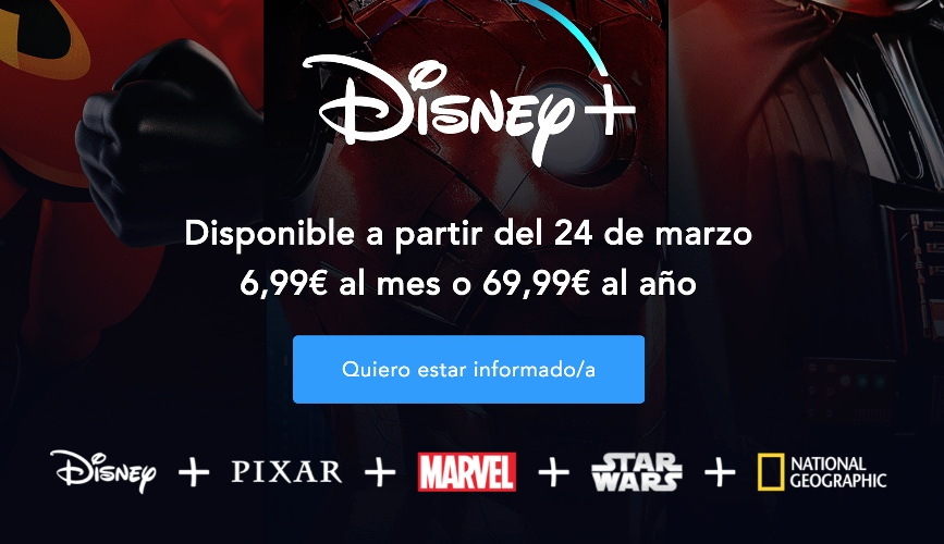 Precios de Disney+ en España