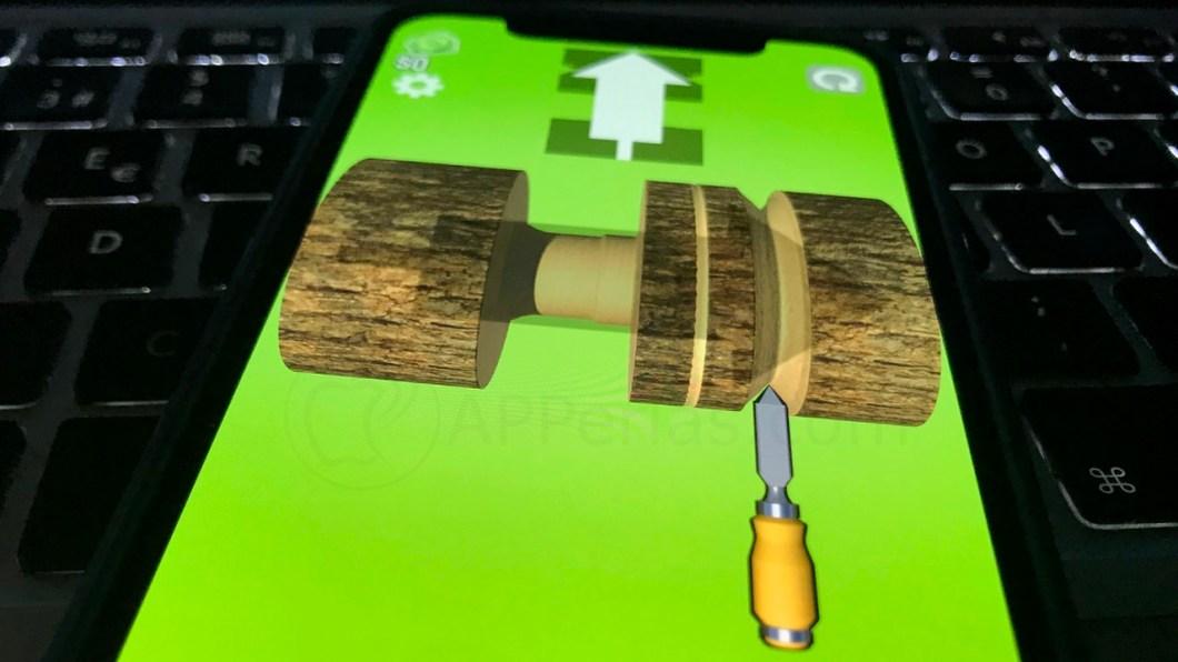 Juego de tornear madera para iPhone y iPad