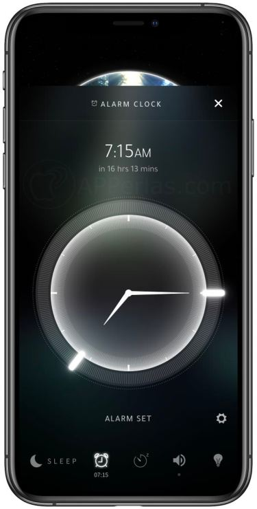 Alarma configurada