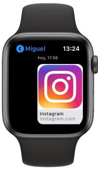Instagram en el Apple Watch 1