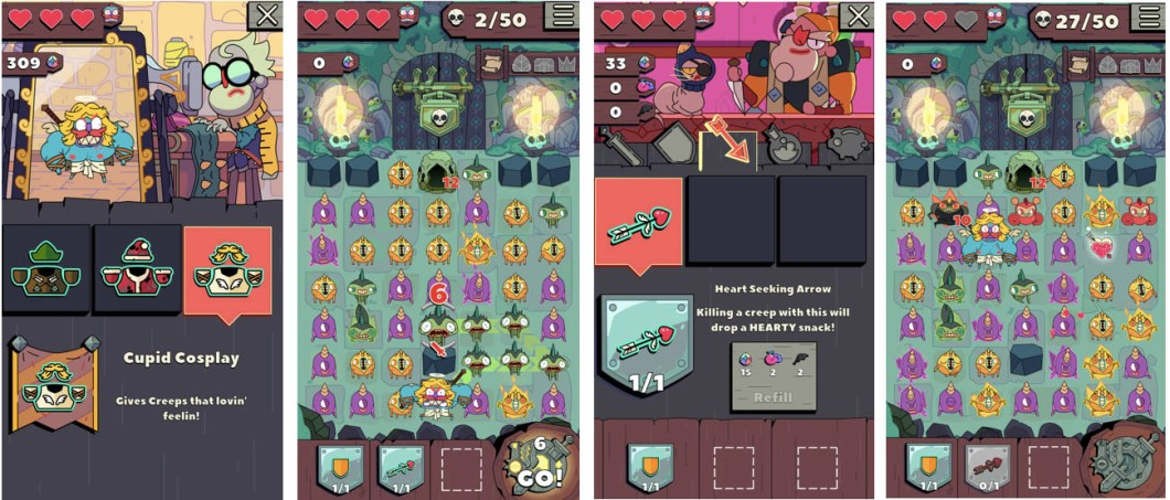 Grindstone y Motivos de Apple Arcade celebran San Valentín 1