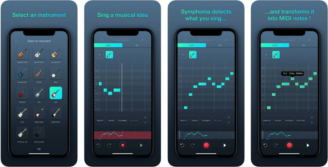 App de música